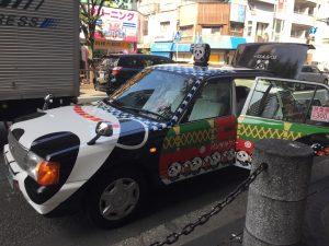 山笠パンダタクシー
